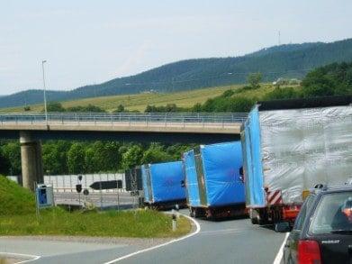 Straßentransport Spedition Arnold Schwerlast