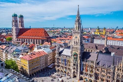 Schwerlasttransporte durch München