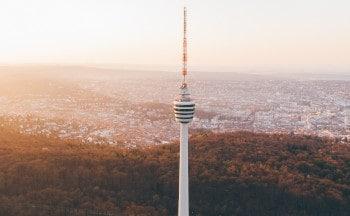 Fernsehturm Stuttgart - Schwerlasttransporte in Stuttgart