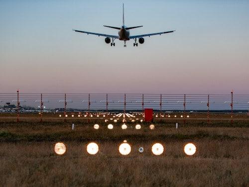 Luftfracht am Frankfurter Flughafen
